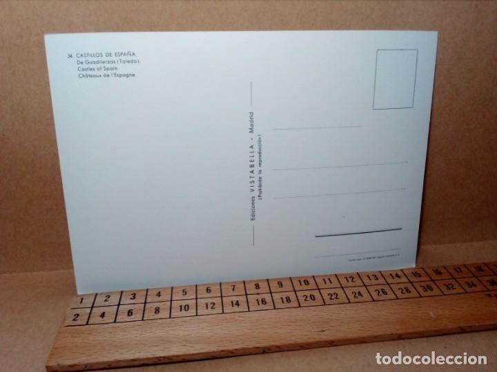 Postales: LOTE 5 POSTALES (SIN CIRCULAR) CASTILLOS Y MONASTERIOS DE ESPAÑA (AÑOS 70) - REF: 210/220 - Foto 8 - 162933618