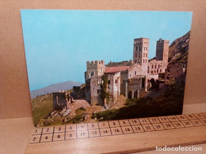 Postales: LOTE 5 POSTALES (SIN CIRCULAR) CASTILLOS Y MONASTERIOS DE ESPAÑA (AÑOS 70) - REF: 210/220 - Foto 13 - 162933618