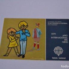 Postales: POSTAL DE LA LOTERIA NACIONAL DE 1979. Lote 163245122