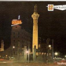 Postales: POSTAL 030617 : BARCELONA. MONUMENTO A MOSSEN JACINTO VERDAGUER AL FONDO LA SAGRADA FAMILIA. Lote 55594962