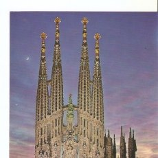 Postales: POSTAL 030653 : BARCELONA TEMPLO SAGRADA FAMILIA. Lote 55594996