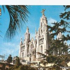 Postales: POSTAL 032224 : BARCELONA. TIBIDABO. TEMPLO NACIONAL EXPIATORIO. Lote 55596549