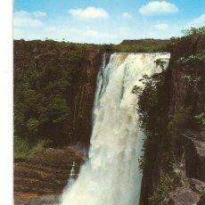 Postales: POSTAL 032319 : SALTO RIO APANGUAO. LA GRAN SABANA. VENEZUELA. Lote 55596643