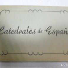 Postales: BLOCK DE 10 POSTALES. CATEDRALES DE ESPAÑA. EDICIONES GARCIA GARRABELLA. VER POSTALES. Lote 163862166