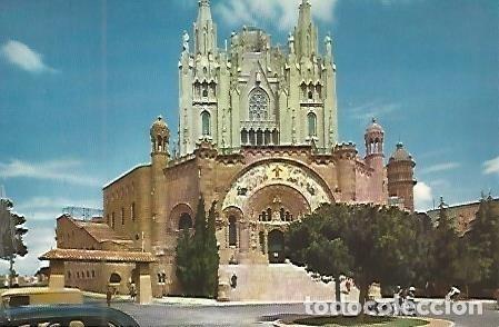 POSTAL 53521: BARCELONA. TEMPLO DEL TIBIDABO (Postales - Varios)