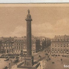 Postales: POSTAL 009103: PLACE VENDOME DE PARIS. Lote 95834367
