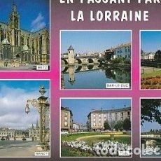 Postales: POSTAL B00835: EN PASSANT PAR LA LORRAINE. SOUVENIR. Lote 101474834