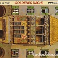 Postales: POSTAL B01652: SEHENSWERT IN TIROL: GOLDENES DACHL. INNSBRUCK.. Lote 104379186