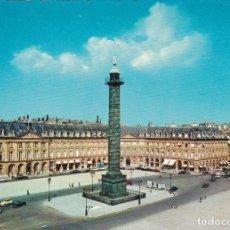 Postales: POSTAL B5953: PARIS: VENDOME ET LA COLONNE. Lote 130308383