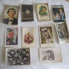 Postales: LOTE DE 10 POSTALES ANTIGUAS-REF-P-84. Lote 164935322
