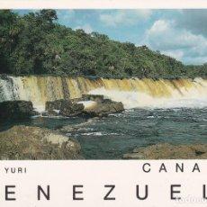 Postales: POSTAL B7512: VENEZUELA: SALTO YURI. Lote 137609382