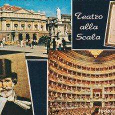 Postales: POSTAL B8633: ROMA: TEATRO ALLA SCALA. Lote 143382141