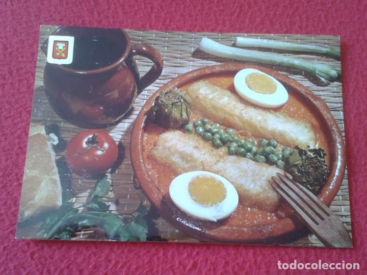 POSTAL POST CARD BACALAO A LA CATALANA COCINA COOK CUISINE COOKING COCINAR COD CODFISH CABILLAUD VER (Postales - Varios)