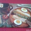 Postales: POSTAL POST CARD BACALAO A LA CATALANA COCINA COOK CUISINE COOKING COCINAR COD CODFISH CABILLAUD VER. Lote 165225530