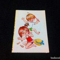 Postales: POSTAL. 3. PAREJAS INFANTILES. BERGAS, INDUSTRIAS GRÁFICAS. POSTAL NO ESCRITA. Lote 165452150