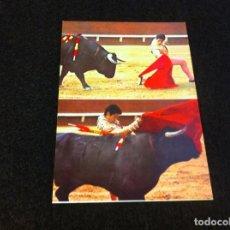 Postales: MIGUEL MATEO MIGUELIN, PLAZA DE VALENCIA, PASE DE RODILLAS....(FOTO BOTAN) NO ESCRITA. 13,5 X 9,5CM. Lote 165454954