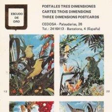 Postales: POSTAL B10675: POSTALES TRES DIMENSIONES: DIFERENTES ASPECTOS. Lote 151514262
