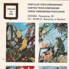 Postales: POSTAL B10676: POSTALES TRES DIMENSIONES: DIFERENTES ASPECTOS. Lote 151514362