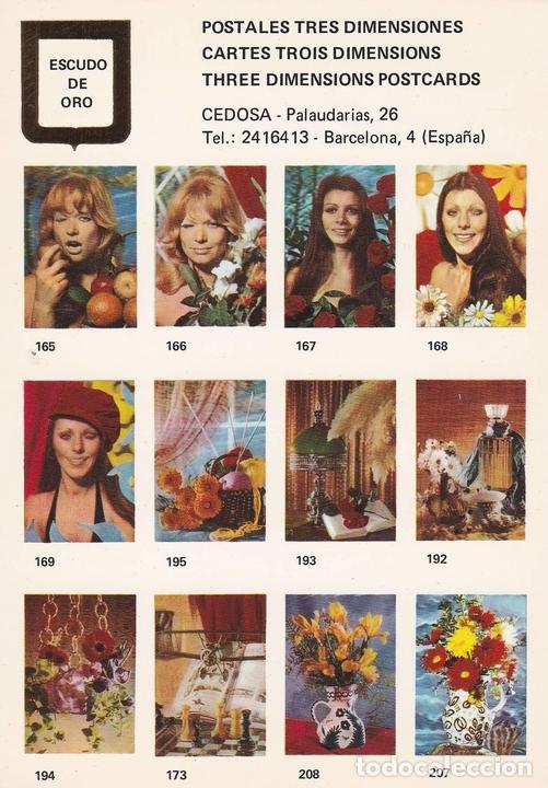 POSTAL B10755: POSTALES TRES DIMENSIONES: DIVERSOS ASPECTOS (Postales - Varios)