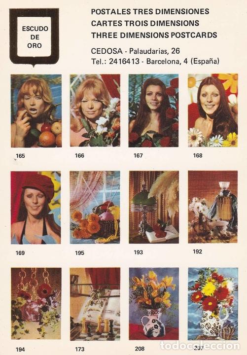 POSTAL B10752: POSTALES TRES DIMENSIONES: DIVERSOS ASPECTOS (Postales - Varios)