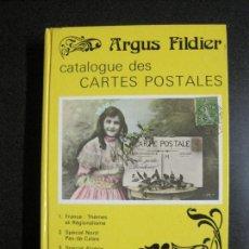 Postales: ARGUS FILDIER-LIBRO CATALOGO TARJETAS POSTALES-1987-VER FOTOS-(V-17.181). Lote 165677450