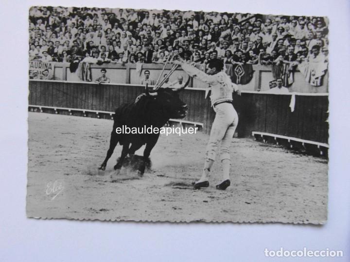 CORRIDA DE TOROS. UN PAR DE BANDERILLAS DE LUIS MIGUEL DOMINGUIN. ELCE. CIRCULADA. CCTT (Postales - Varios)