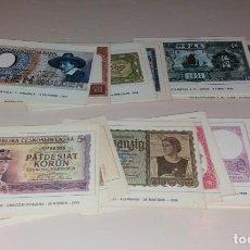 Postales: POSTALES. COLECTARJETAS BILLETES DEL MUNDO. SERIE A, 27 DIFERENTES. Lote 166132614