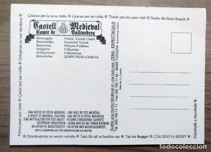 Postales: postal castell medieval comte de valtordera, tordera, barcelona - Foto 2 - 166640994