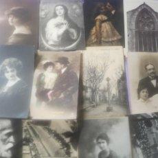 Postales: POSTALES ANTIGUAS AÑO 1912 1921 1960. Lote 166792582