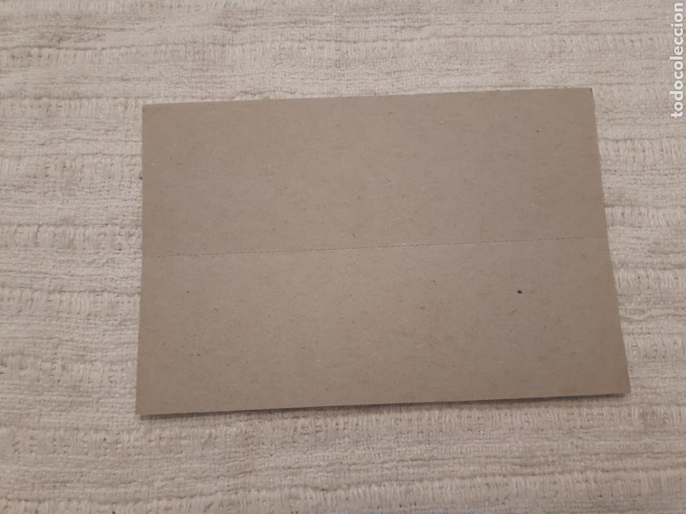 Postales: Antigua etiqueta Vam Zaragoza blíster sin uso coches plástico - Foto 2 - 194244873