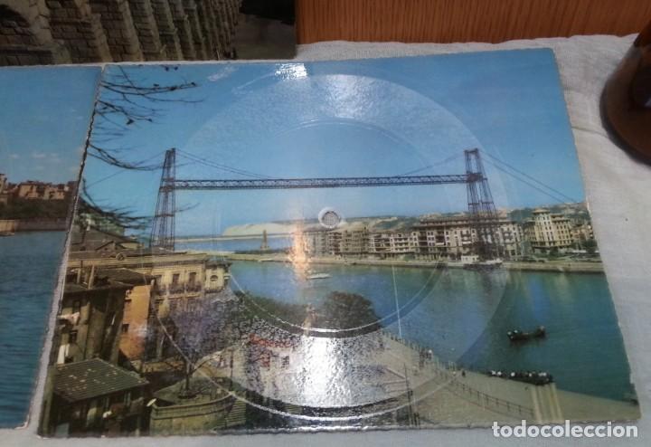 Postales: Tarjeta postal sonora Fonoscope. Año 1958. Tres Tarjetas - Foto 3 - 168180200