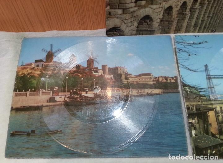 Postales: Tarjeta postal sonora Fonoscope. Año 1958. Tres Tarjetas - Foto 4 - 168180200