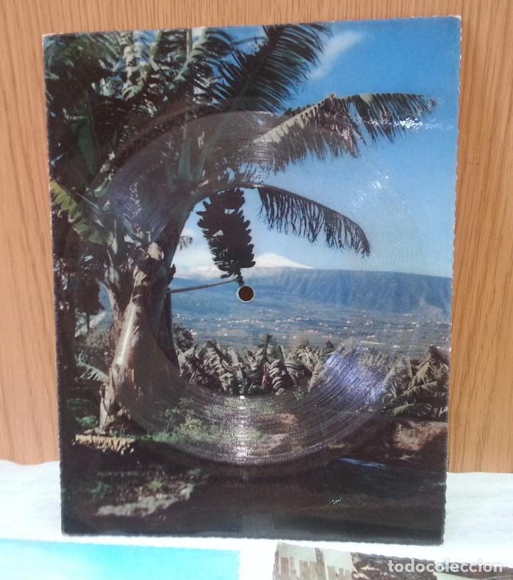 Postales: Tarjeta postal sonora Fonoscope. Año 1958. Tres Tarjetas - Foto 2 - 168478064