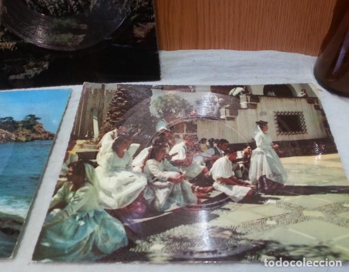 Postales: Tarjeta postal sonora Fonoscope. Año 1958. Tres Tarjetas - Foto 3 - 168478064