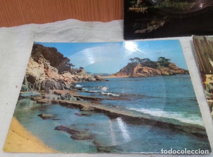 Postales: Tarjeta postal sonora Fonoscope. Año 1958. Tres Tarjetas - Foto 4 - 168478064