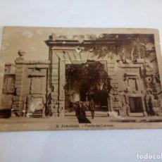 Postales: POSTAL DE ZARAGOZA . Lote 168704700