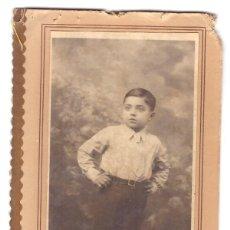 Postales: FOTOGRAFÍA (14X6,5. SOLO LA FOTOGRAFÍA SIN EL CARTÓN) J. BUSQUETS. BARCELONA. Lote 169367968