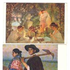 Postales: LOTE DE 3 POSTALES: JEUNESSE POR G. LA TOUCHE. Lote 169367976