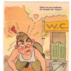Postales: POSTAL CÓMICA. ESPAÑOLA. FECHADA EN 1953. Lote 169367992