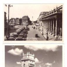 Postales: LOTE DE 3 FOTO-POSTALES: LISBOA.- TORRE DE BELEM. Lote 169368080
