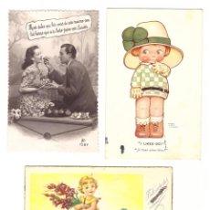 Postales: LOTE DE 3 POSTALES.. Lote 169368434