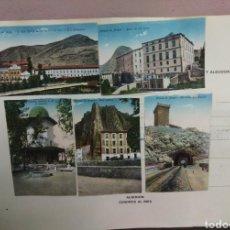 Postales: LOTE 5 POSTALES ANTIGUAS ALHAMA DE ARAGON. Lote 169395480