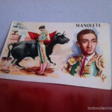 Postales: MANOLETE. TARJETA POSTAL ( SIN USO) A.IBARRA 1950. Lote 170369248