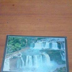 Postales: POSTAL ESCRITA. CATARATAS DO IGUACU BRASIL. VISTA AEREA. . Lote 171160258