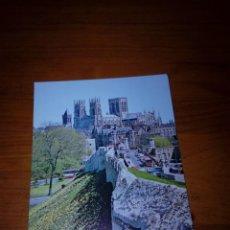 Postales: POSTAL ESCRITA. YORK MINSTER FROM CITY WALLS.. Lote 171163964
