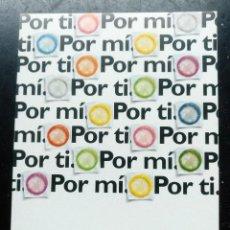 Postales: POSTAL - PRESERVATIVO - SIDA - NUEVA. Lote 171492899