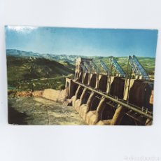 Cartoline: (AKT.4) TARJETA POSTAL - N°1605. SERIE LL. TREMP. COMPUERTAS DEL LAGO SAN ANTONIO. CIRCULADA. Lote 171704138