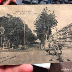 Postales: POSTAL MALAGA LA ALAMEDA - RAFAEL TOVAL. Lote 172017372