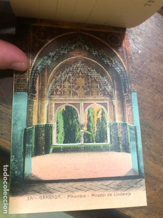 Postales: LIBRO RECUERDO DE GRANADA - TARJETAS POSTALES POR ABELARDO LINARES - ALHAMBRA - Foto 12 - 172067040
