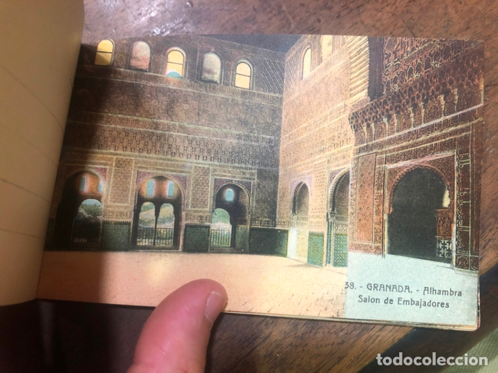 Postales: LIBRO RECUERDO DE GRANADA - TARJETAS POSTALES POR ABELARDO LINARES - ALHAMBRA - Foto 13 - 172067040